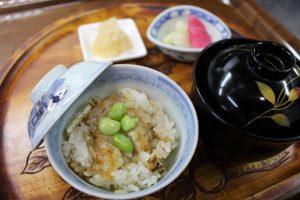 長瀞ホテルセラヴィ 2017年8月の夕食