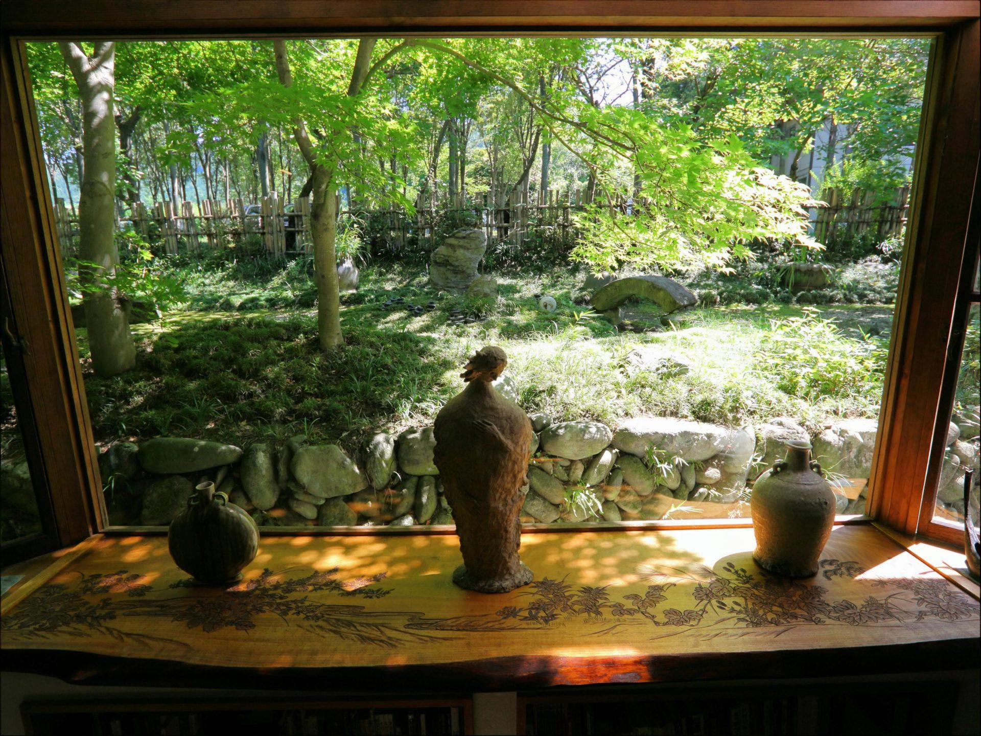 長瀞のホテルセラヴィ フロントからの景色
